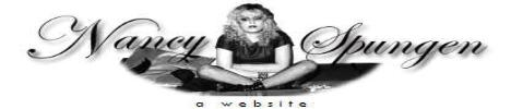 Nancy Spungen Web Site